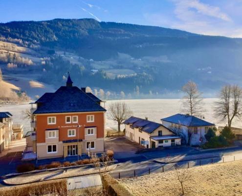Haus Feldseeblick im Winter